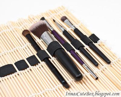 Porta pinceles de maquillaje reciclado en Recicla Inventa