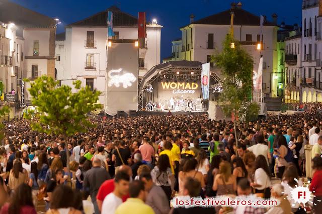 WOMAD Cáceres 2013 Concierto Rokia Traore