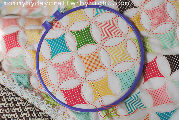 Mommy By Day Crafter By Night Darling Doll Quilt Tutorial
