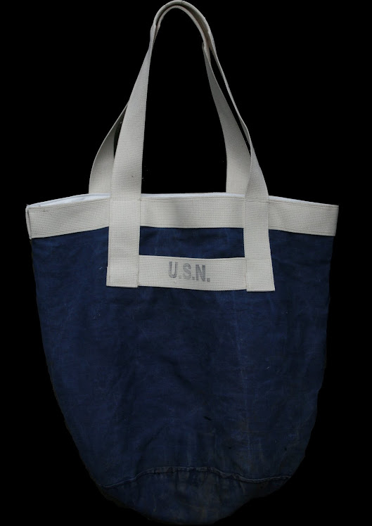 USN INDIGO WORK SIGNAL BAG