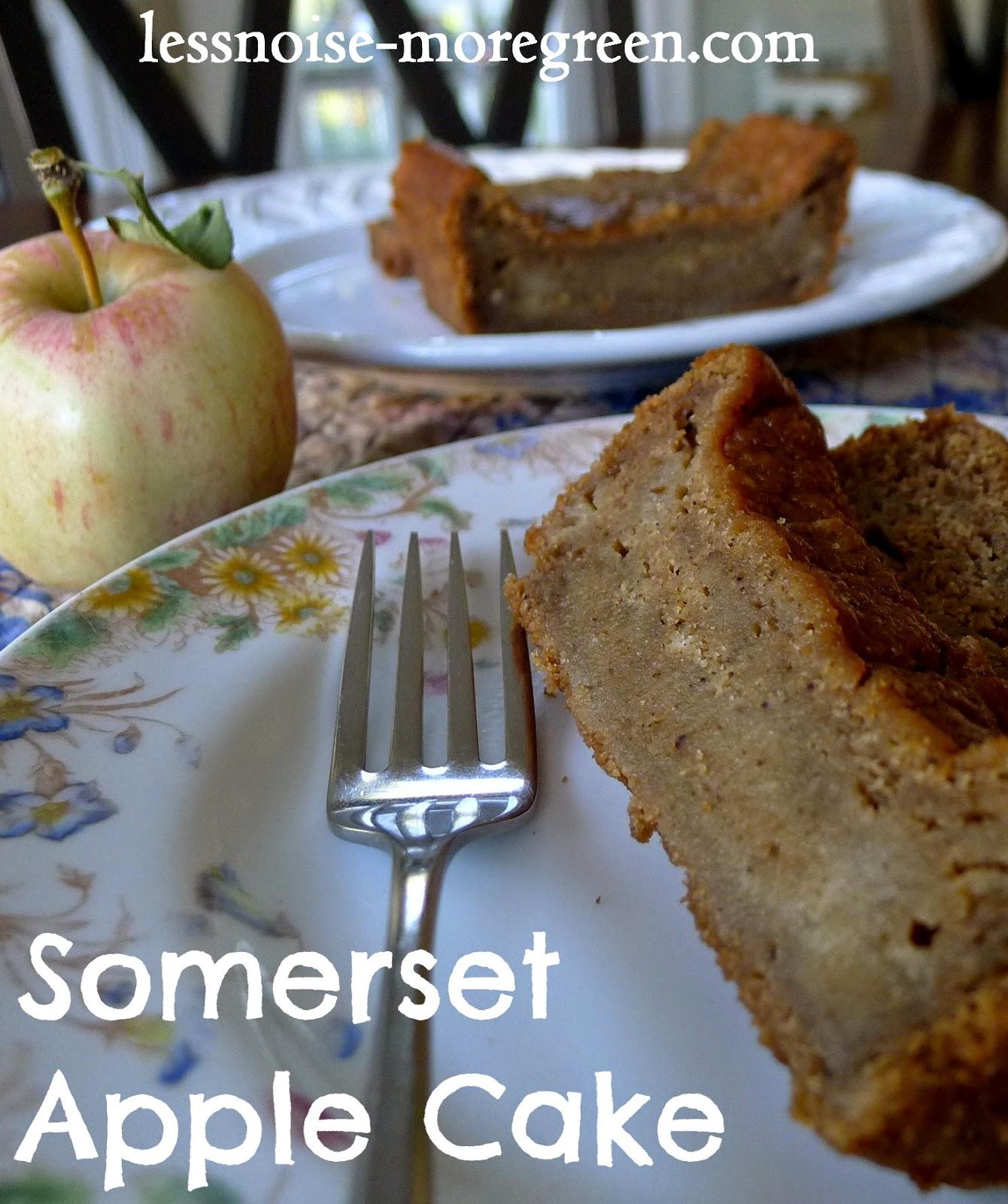 Somerset Apple Cake British