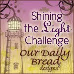 Our Daily Bread mention: Embedded Embossing challenge