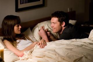 Joanna e Michael, personagens do filme Apenas uma noite