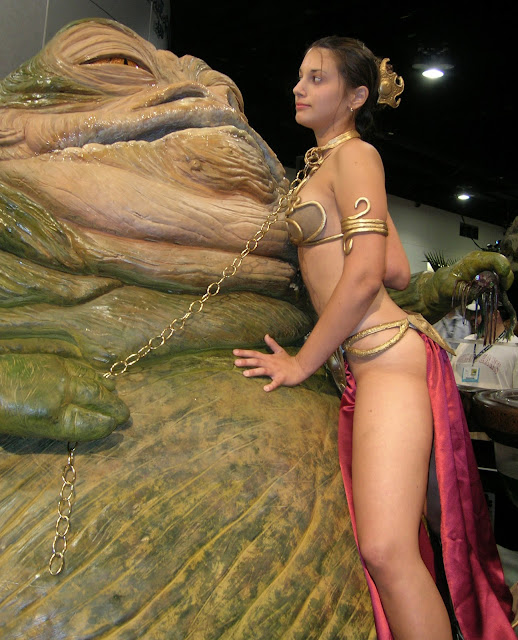 Amateur slave leia star wars cosplay blowjob amp cim 5
