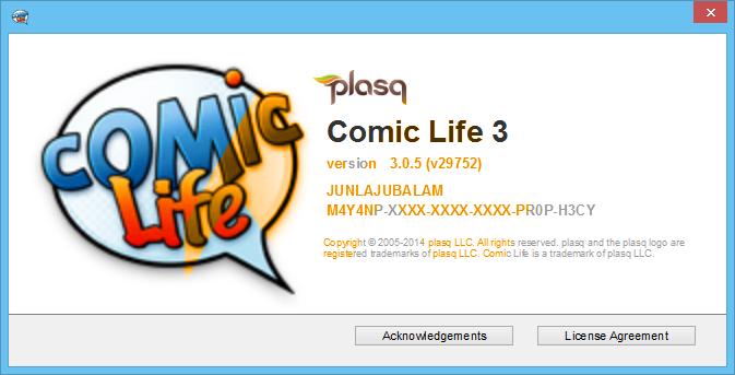 Comic Life 3.0.5