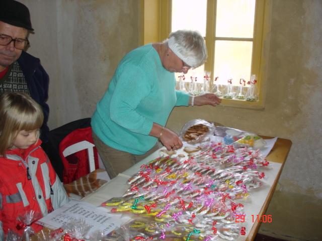 Advent na Krásné 29. 11. 2009 - perníky