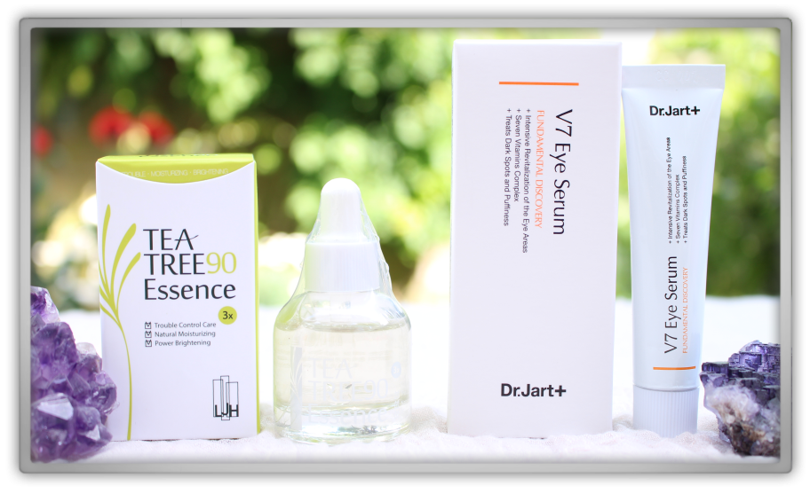 겟잇뷰티박스 by 미미박스 memebox Luckybox beautybox #5 unboxing review preview boxLJH tea tree 90 essence Dr jart v7 eye serum