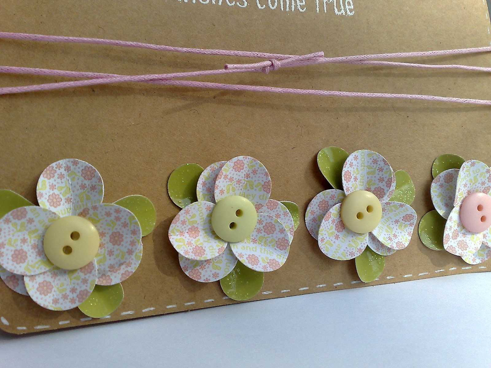 Paper Craft Tales: Paper Punch Flowers - May ALL your wishes come