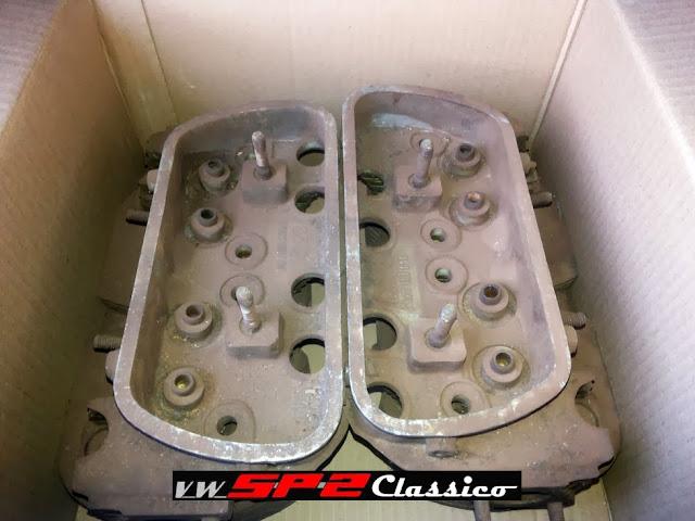 Cabeçotes originais 1700 Volkswagen SP2_a
