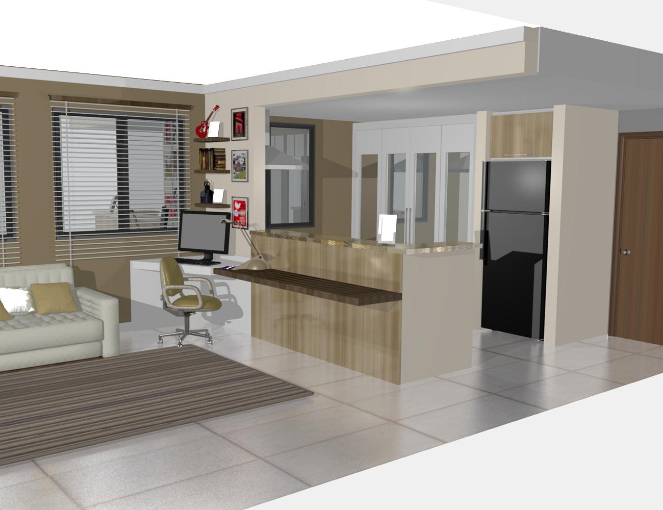 cozinha planejadas pequenas decorada americana modulada luxo moderna  #5F4B3B 1300 1000