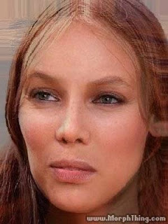A cross between Joni Mitchell and Tyra Banks
