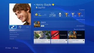 PS4 Página Personal