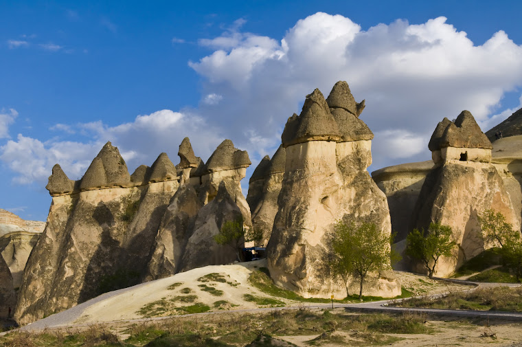 Cappadochia, in central Turkey