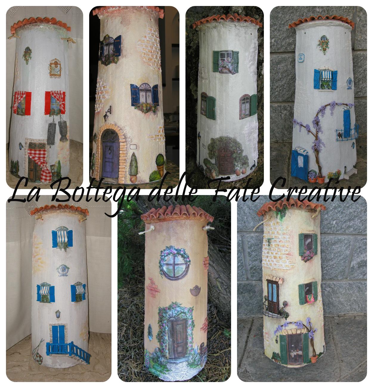 La bottega delle fate creative coppi decorati - Coppi decorati in rilievo ...