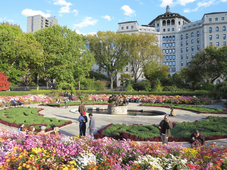 66 Square Feet Plus Conservancy Garden In Fall