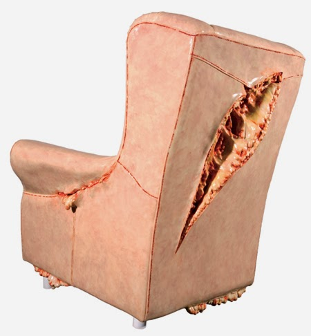 A Chair Straight Out of David Cronenberg's Dreams