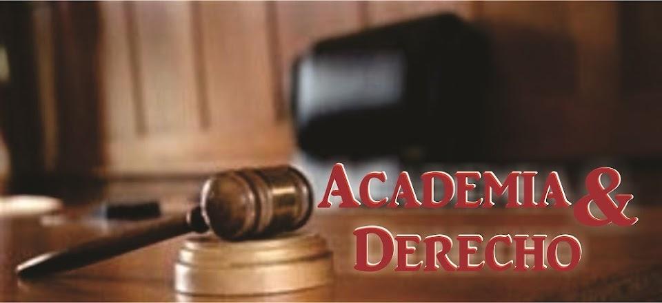 Academia y Derecho
