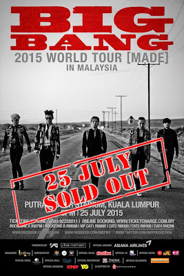 BIGBANG 2015 WORLD TOUR [MADE] IN MALAYSIA