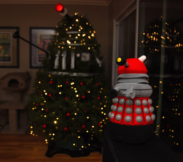 What do you think? - It's A Dan's World: MERRY CHRISTMAS: The Dalek Christmas Tree