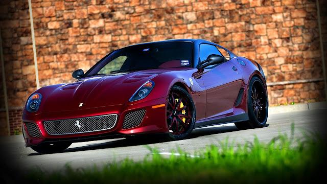 Ferrari 599 GTO HD Wallpaper