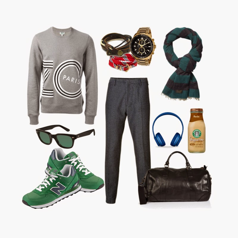 look sport chic para casual friday