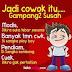 DP BBM Jadi Cowok Gampang Gampang Susah