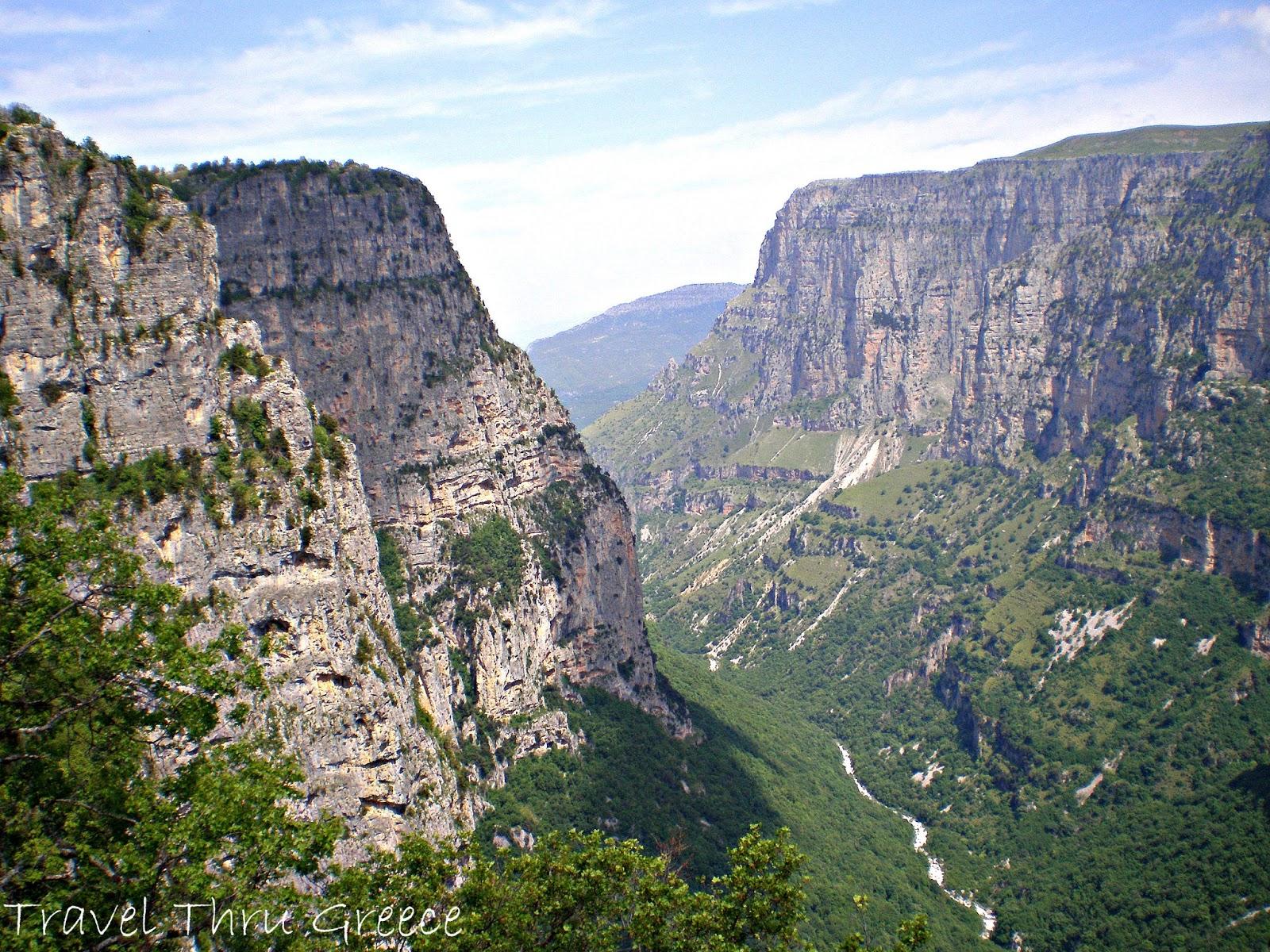 Travel Thru Greece with Mara: Vikos Gorge
