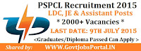 PSPCL Recruitment 2015