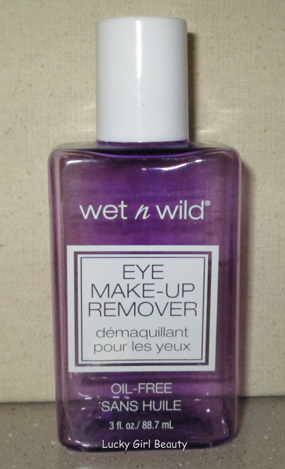 Lucky Girl Beauty: Wet n\' Wild Eye Make-Up Remover Review