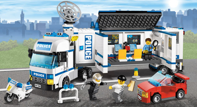 Lego world delight lego city police sets - Lego city camion police ...
