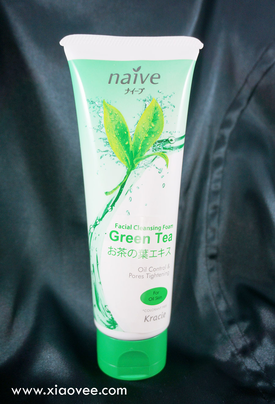 Naive cleansing foam