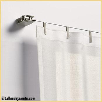 Informe las cortinas for Como poner ganchos cortinas