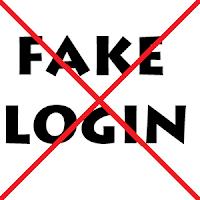 Cara Menghindari Fake Login