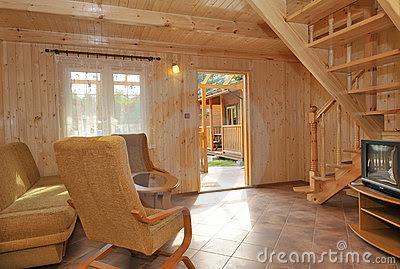 Bricolage e decora o v rios interiores de diferentes - Interiores de casas prefabricadas ...