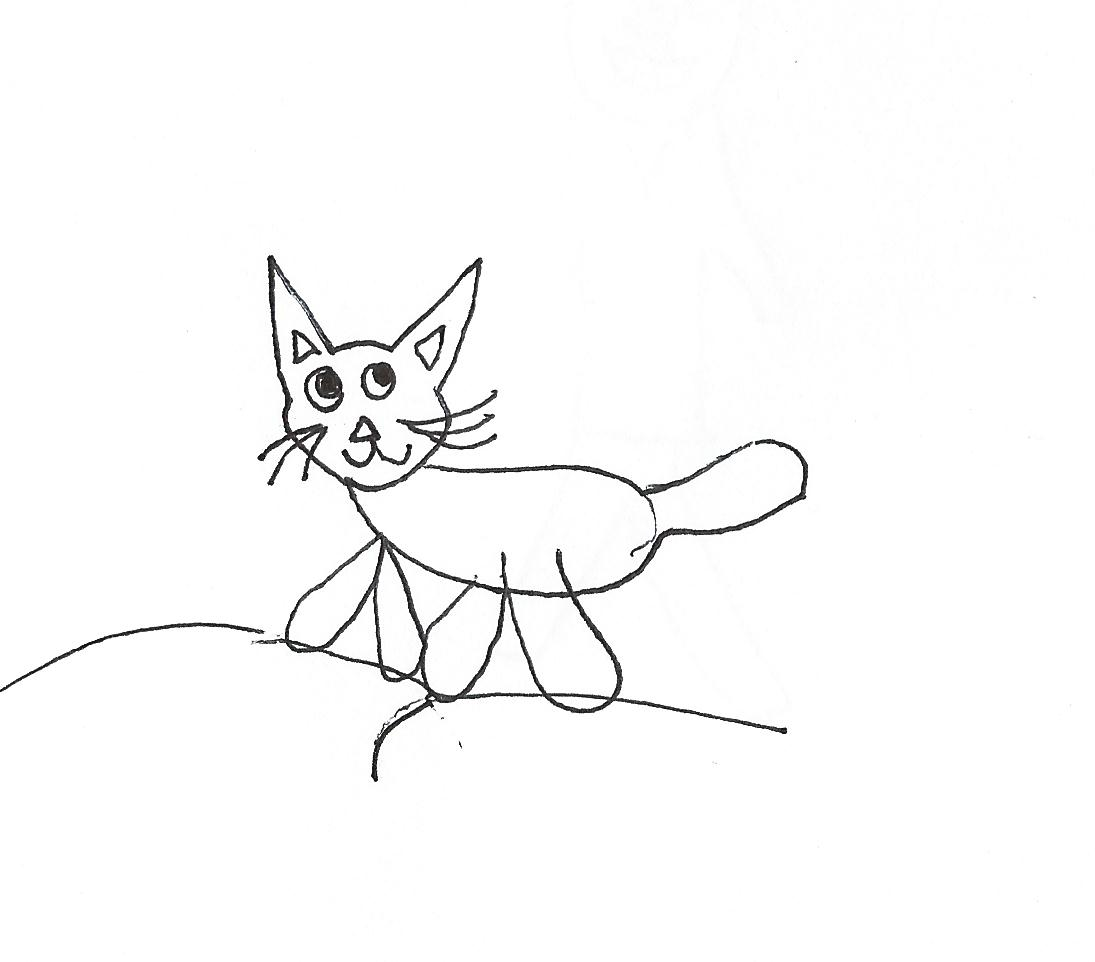 Ihopeiwinatoaster a cat and a baseball guy for Sam and cat coloring pages