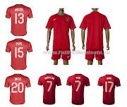 Camisetas Futbol BaratasCamiseta Portugal 1 Equipacion 201213