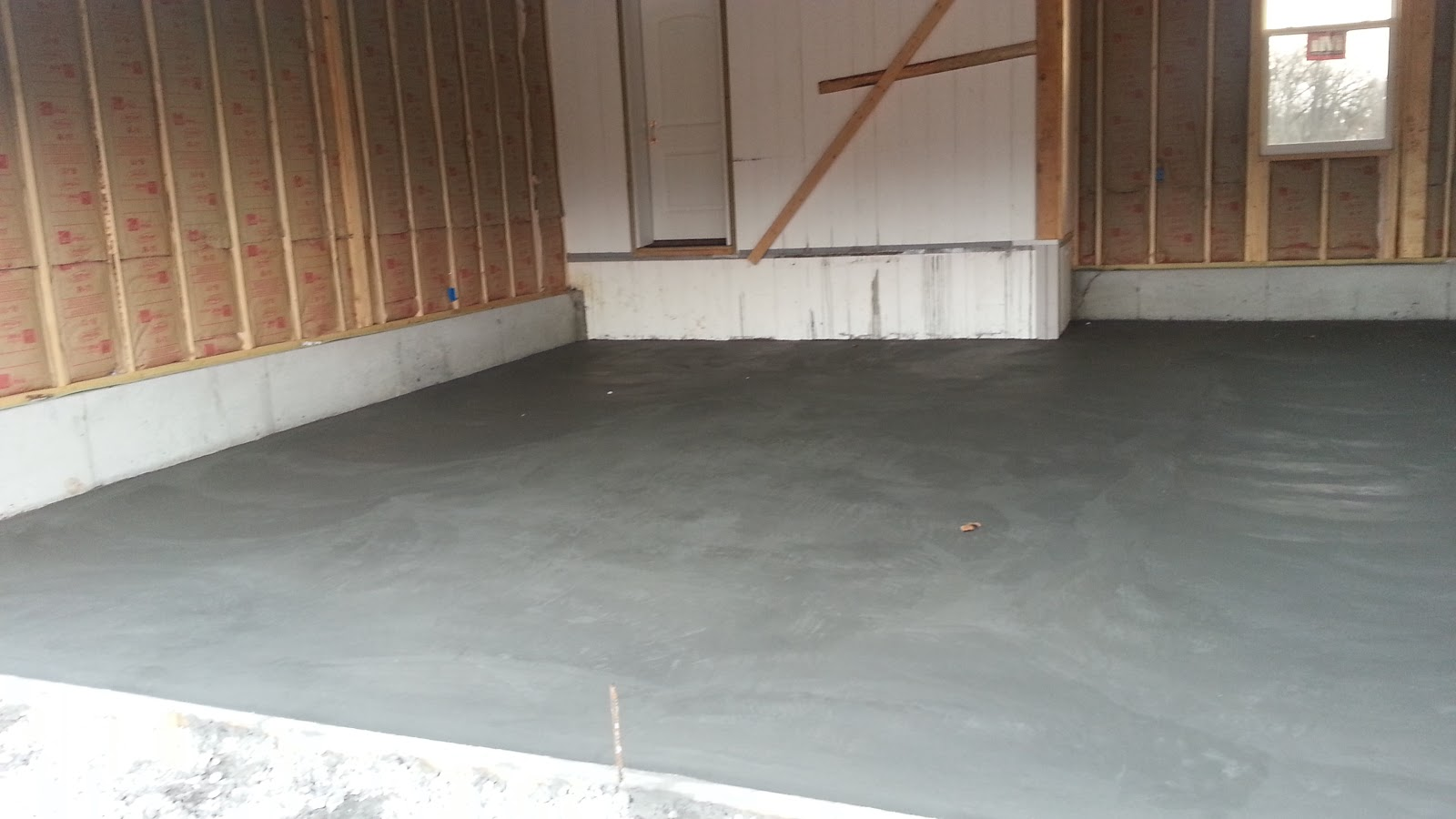 Insulated concrete forms tf systems house garage floor is for Concrete icf garage plans