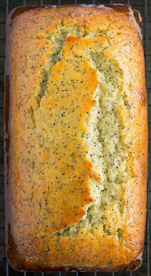 Recipe >> Lemon Poppy Seed Bread @ cookingclassy.com