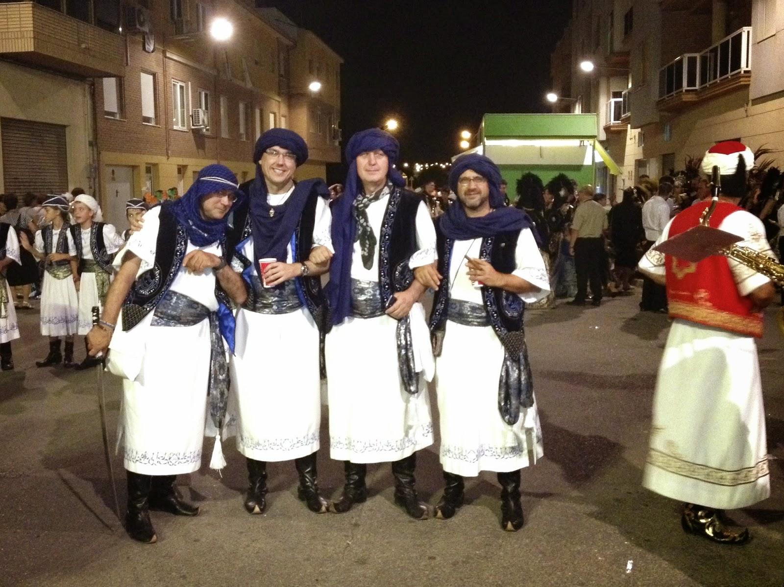 Escuadra de Moros Abenzoares. Moros y Cristianos de Caudete.