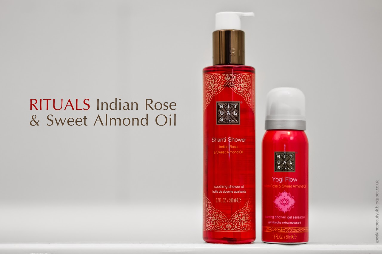 rituals caring shower oil