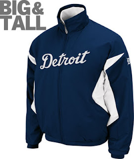 Big and Tall Detroit Tigers Jacket