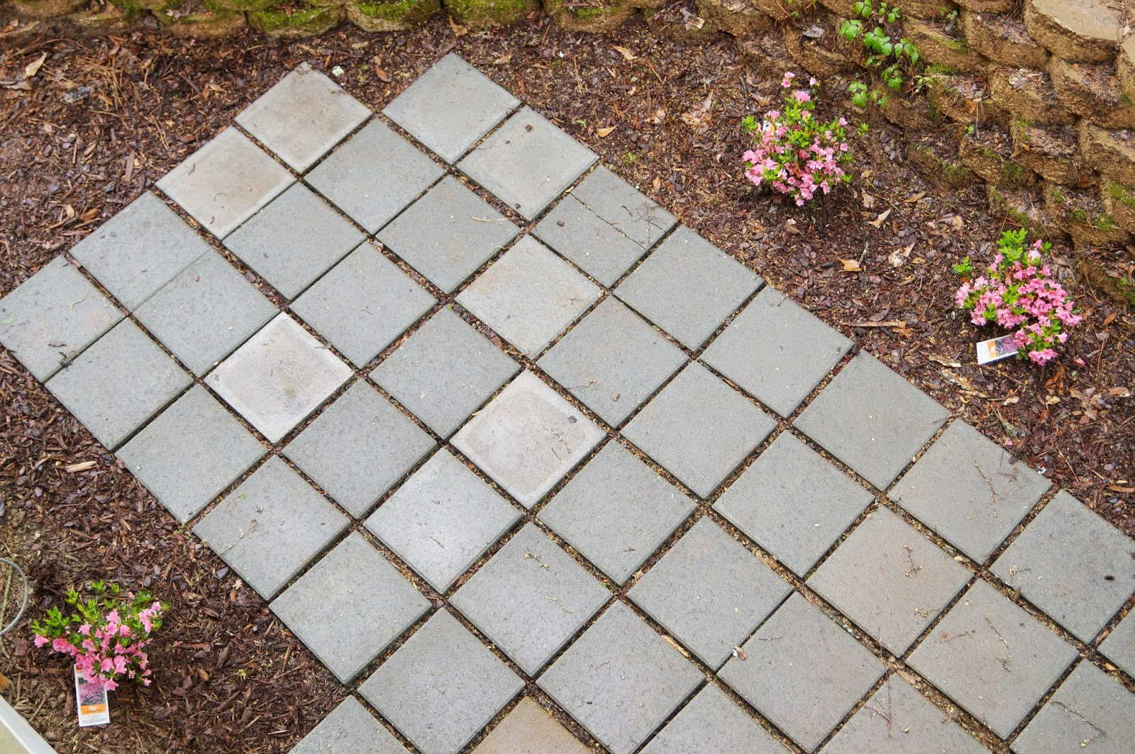 Home Depot Patio Pavers Design Ideas