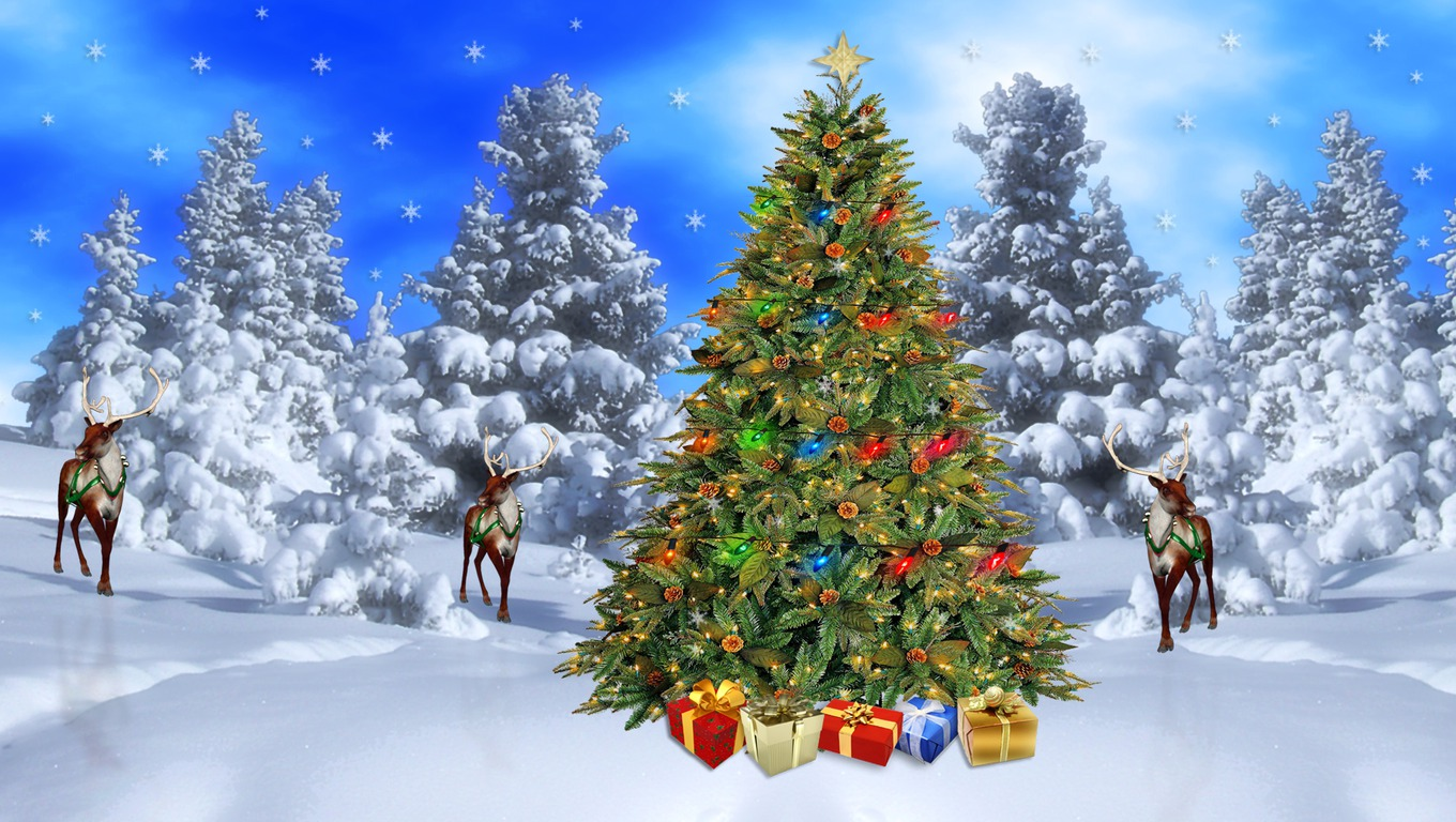 free wallpaper christmas scenes 2017 - Grasscloth Wallpaper