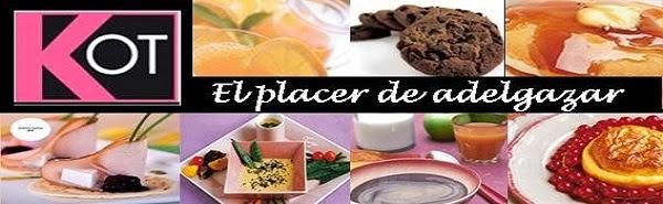 DIETA KOT - FASES, MENÚS, RECETAS Y TABLA DE ALIMENTOS