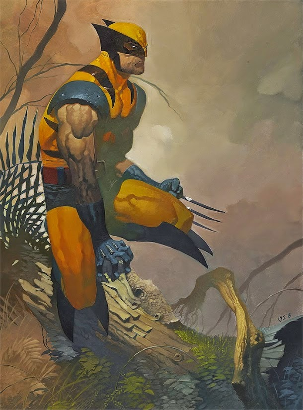 Wolverine art by Christopher Stevens