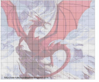 Бесплатная схема вышивки дракона из бисера