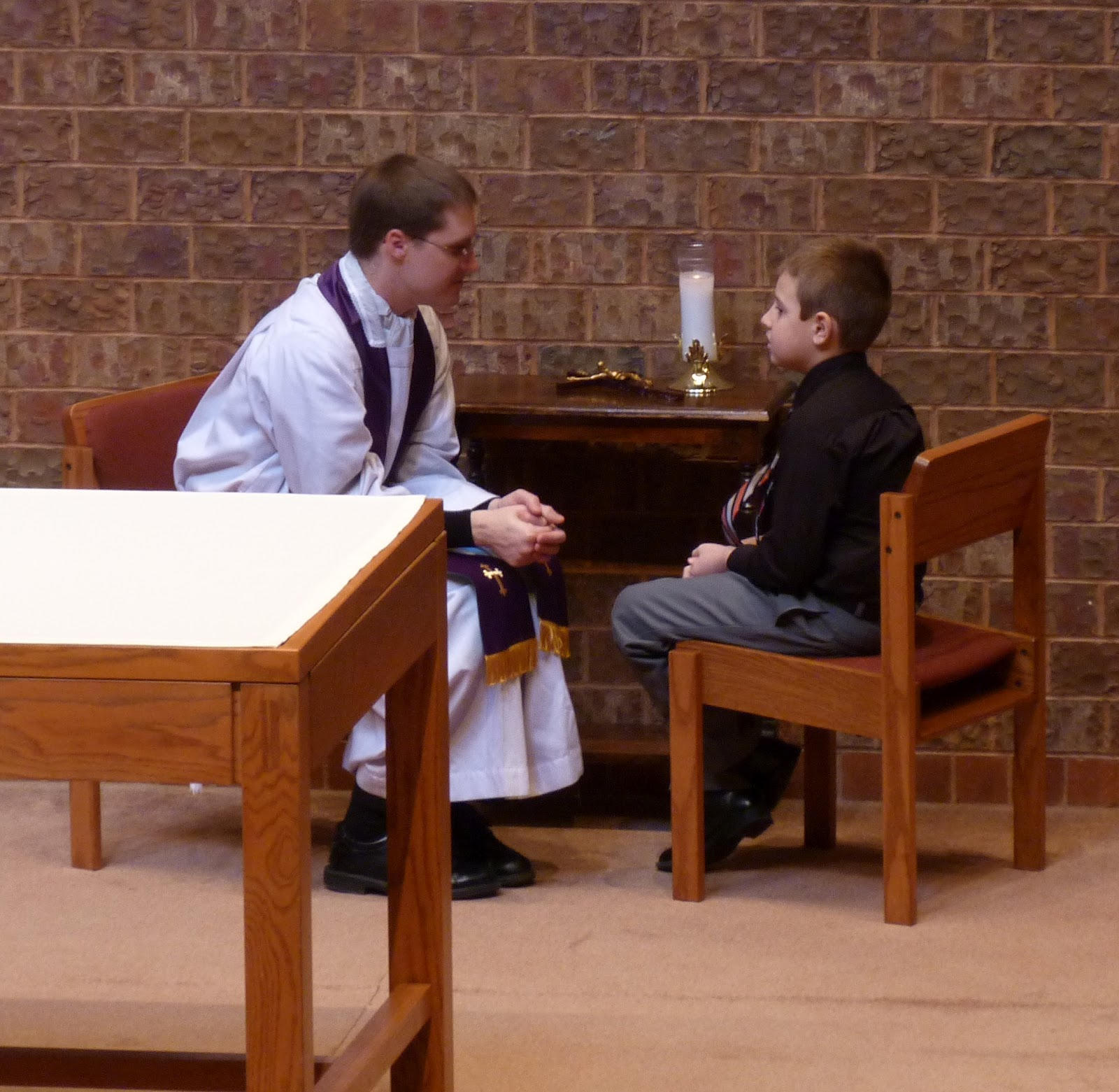 Reconciliation Saint Columbkille Pari...