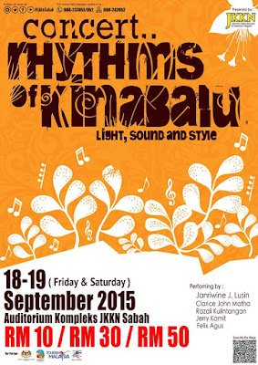 Rhythm of Kinabalu 2015 Sabah