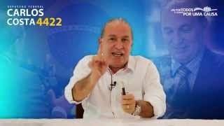 Carlos Costa falou ao vivo no evento em Vitória, Espírito Santo confira