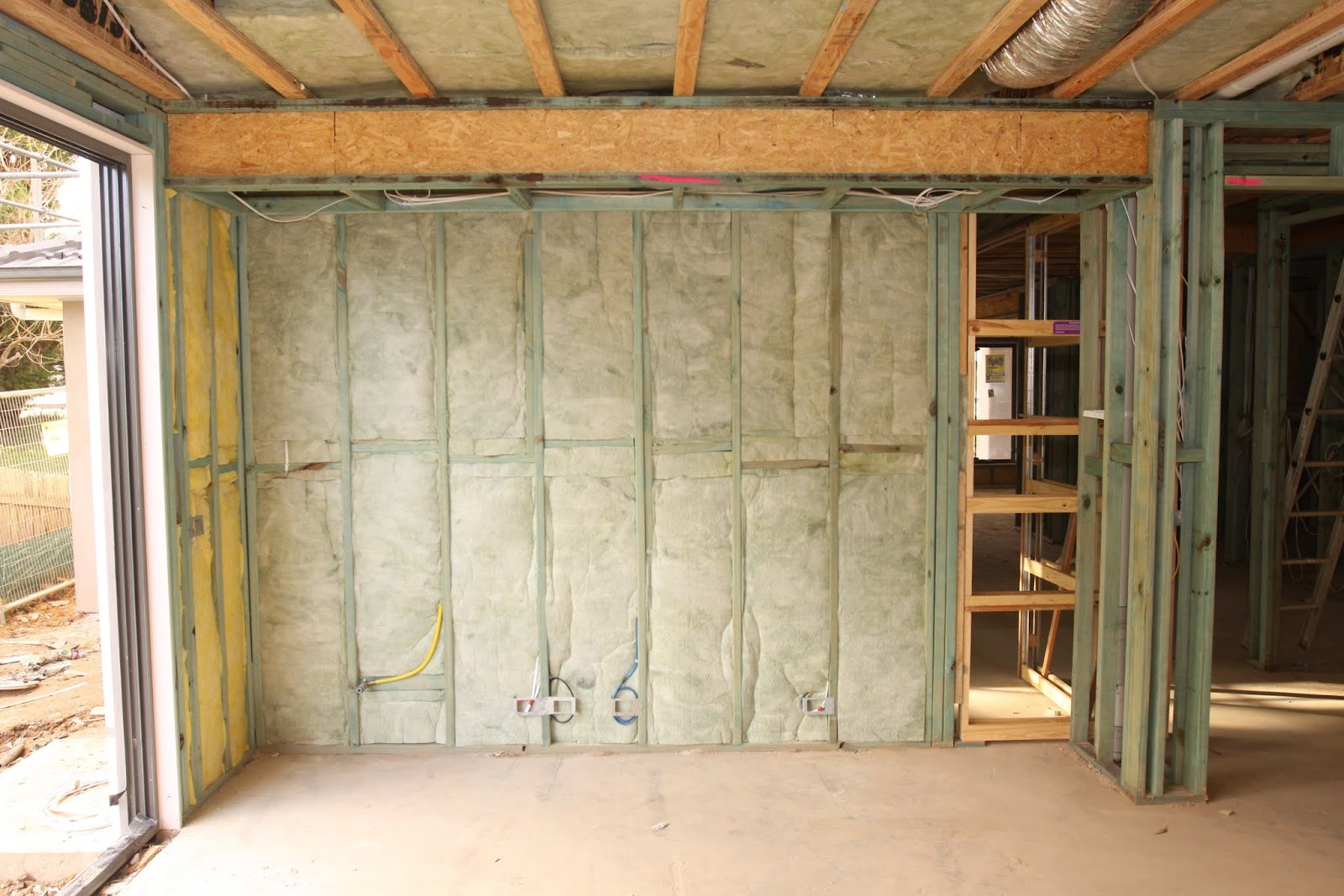 In The Family Room The Other Side Of The Wall Is The Study But I Just Realised The Cavity Slide Door Frame Will Leave An Acoustic Insulation Gap! & Insulate Door Frame u0026 Foam Insulation Sprayed Into The Space ... pezcame.com